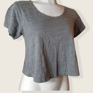 3 for $20 Forever 21   comfy cut out back crop top